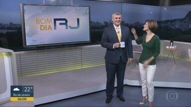 Bom Dia RJ - Edição de terça-feira, 16/10/2018 - As primeiras notícias do Rio de Janeiro, apresentadas por Flávio Fachel, com prestação de serviço, boletins de trânsito e previsão do tempo.
