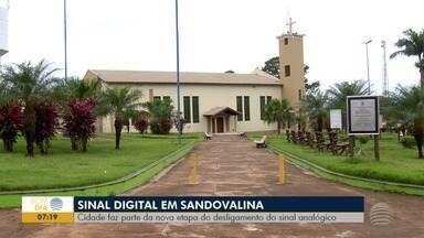 Estação Digital atende moradores de Sandovalina - Sinal analógico será desligado .