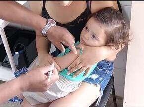 Programa de imunizações aponta que cobertura vacinal está abaixo da meta no país - Em cidades do Norte de Minas várias vacinas também estão com cobertura abaixo do indicado.