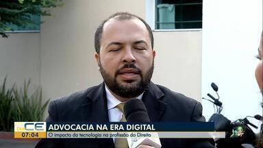 Evento discute advocacia na era digital, em Sobral - Saiba mais em g1.com.br/ce