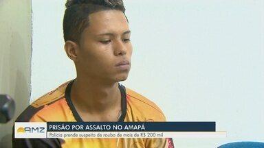 Polícia prende suspeitos de assaltar casa de empresário no Amapá - Polícia investiga participação de outros suspeitos.