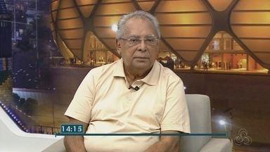 Amazonino Mendes é entrevistado no Jornal do Amazonas 2ª edição - Candidato pelo PDT disputa reeleição para governo do AM.
