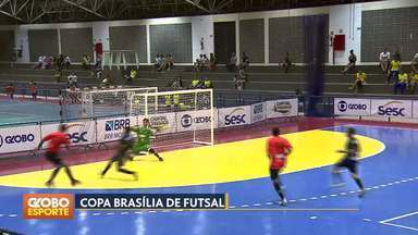 Copa Brasília de Futsal - Sobradinho e Taguatinga garantem vaga nas oitavas de final.