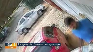 Ladrão leva moto e imagem do roubo é publicada nas redes sociais - Ladrão acaba preso depois de ser reconhecido em imagens publicadas pela vítima nas redes sociais. O roubo foi no Gama.