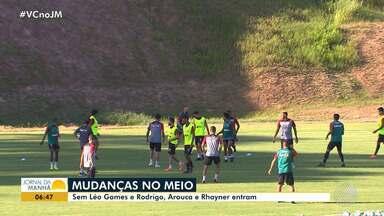Vitória: Arouca e Rhayner entram no meio campo - Veja os destaques do rubro negro baiano.