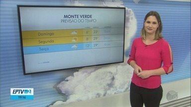 Confira a previsão do tempo para este domingo (21) no Sul de Minas - Confira a previsão do tempo para este domingo (21) no Sul de Minas