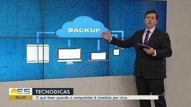 Tecnodicas: consultor de tecnologia do ES ensina a proteger computador de vírus - Gilberto Sudré ensina a proteger computador de vírus.