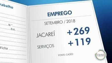 Jacareí foi a cidade que teve o melhor desempenho no Caged em setembro - Setor que puxou essa alta foi o de serviços.