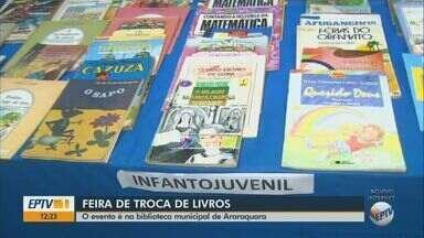 Biblioteca Municipal de Araraquara promove feira de troca de livros até sábado (27) - Exposição fica das 8h às 19h50 até sexta, e no sábado, das 9h às 11h50.