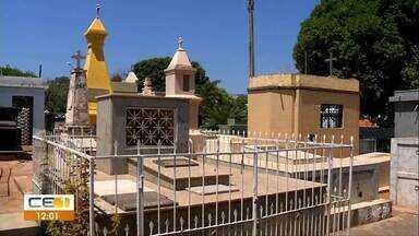 Cemitério passa por reparos para dia de finados, em Juazeiro do Norte - Saiba mais em g1.com.br/ce