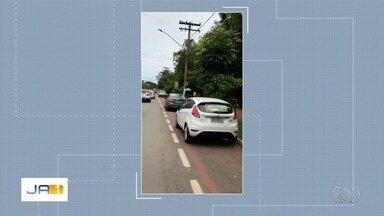 Após flagra de carros em ciclovia, SMT diz que tem equipes e câmeras para multar no local - Órgão, porém, não informou quantas multas foram aplicadas.