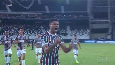 Fluminense vacila e cedo empate ao Nacional pelas quartas da Sul-Americana - Fluminense vacila e cedo empate ao Nacional pelas quartas da Sul-Americana