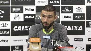 Vanderlei falou sobre a próxima partida do Santos contra o Fluminense - Vanderlei falou sobre a próxima partida do Santos contra o Fluminense