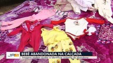 Polícia ouve homem que achou bebê em calçada, em Goiânia - Corporação analisa câmeras de segurança sobre o caso.
