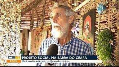 Projeto social usa a medicina alternativa na Barra do Ceará - Saiba mais em g1.com.br/ce