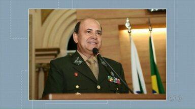Ratinho Júnior anuncia secretário de segurança pública - É o general do exército Luiz Felipe Kraemer Carbonell