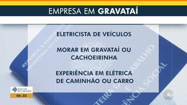 Empregos: empresa em Gravataí contrata eletricista - Veja mais detalhes.