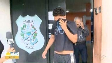 Homem que abusou de passageira é levado para presídio, no ES - Ele foi autuado por crime de importunação sexual e pode ficar 5 anos preso.
