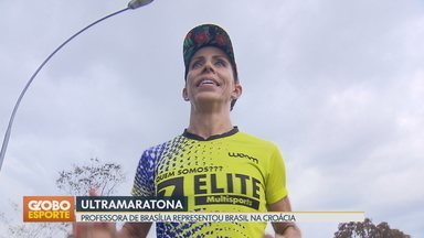 Professora de Brasília se destaca em Ultramaratonas - Helen representou o Brasil no mundial da modalidade, na Croácia