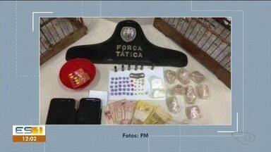Dois homens são detidos por tráfico de drogas em Iúna - Drogas e munições foram apreendidas.