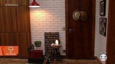 Aprenda a fazer parede de tijolos usando isopor - Dica de decoração dá um 'up' na sua casa