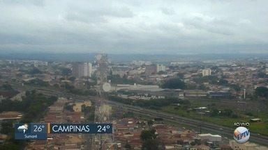 Confira como fica a previsão do tempo em Campinas e região - A máxima na cidade é de 24°C neste sábado (27).