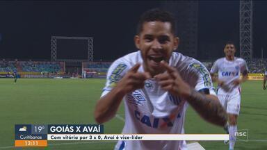 Avaí bate o Goiás e assume vice-liderança da Série B; Figueira e Criciúma duelam - Avaí bate o Goiás e assume vice-liderança da Série B; Figueira e Criciúma duelam na capital