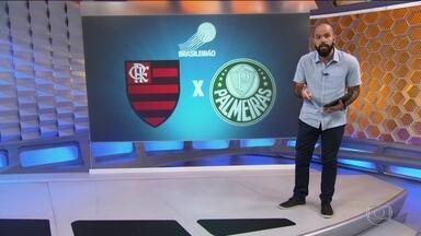 """Flamengo e Palmeiras focam em estilos parecidos para """"decisão"""" no Maracanã - Flamengo e Palmeiras focam em estilos parecidos para """"decisão"""" no Maracanã."""