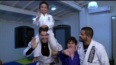 Jiu-jítsu praticado de forma especial muda a vida de crianças - Jiu-jítsu praticado de forma especial muda a vida de crianças