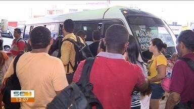 Frota do transporte público intermunicipal foi reforçada para este final de semana - Muitos eleitores vão precisar viajar para votar no interior do estado.