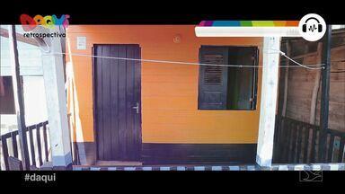 Projeto 'Pinta Casa' leva cores para moradores de palafitas em São Luís - Iniciativa conta com voluntários que pintaram as fachadas de palafitas localizadas na periferia de São Luís.