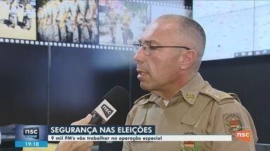 Comandante da PM explica como irá funcionar a segurança em SC durante as eleições - Comandante da PM explica como irá funcionar a segurança em SC durante as eleições