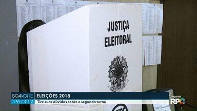 Tire suas dúvidas para a eleição de amanhã - Quem não votou no primeiro turno, pode votar no segundo?