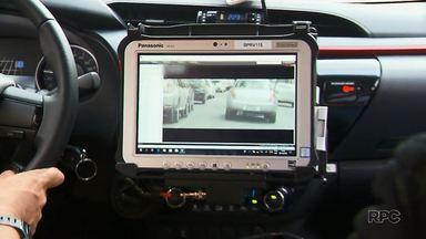 Polícia recebe viaturas com equipamentos inteligentes - São duas viaturas equipadas com uma câmera que faz a leitura, na hora, das placas dos veículos.