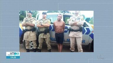 Preso fugitivo é recapturado após ser reconhecido por moradora em Colméia - Preso fugitivo é recapturado após ser reconhecido por moradora em Colméia