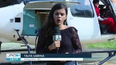 Guajará-Mirim tem a maior cobertura eleitoral em território indígena do estado - Urnas eletrônicas para a votação neste domingo (28) já foram enviadas de helicóptero às aldeias da região.