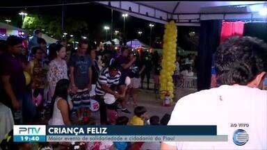 Criança Feliz 2018 - evento reúne milhares de pessoas no Parque da Cidadania - Criança Feliz reúne milhares de pessoas no Parque da Cidadania