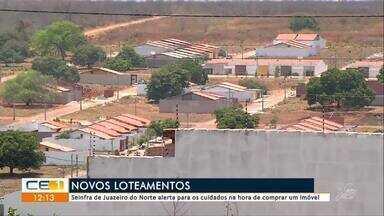 Seinfra alerta para cuidados na hora de comprar imóveis, em Juazeiro do Norte - Saiba mais em g1.com.br/ce