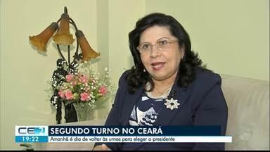 Eleitores se preparam para segundo turno, no Ceará - Saiba mais em g1.com.br/ce