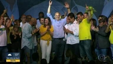 Wilson Witzel é o governador eleito do Rio de Janeiro - Wilson Witzel, do PSC, foi eleito com quase 60% dos votos válidos. Um andar do Palácio Guanabara já foi reservado para a transição.