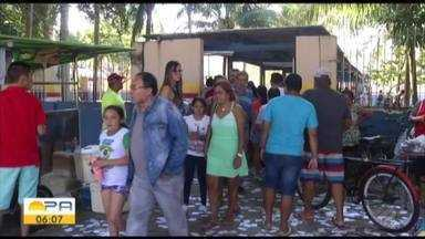 Domingo de eleições foi tranquilo na capital paraense - Filas estavam pequenas comparadas ao primeiro turno.