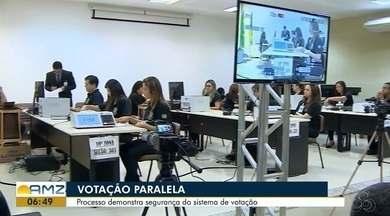 Votação paralela é uma auditoria para demonstrar a segurança do sistema de votação no AP - Processo demonstra a segurança e a confiabilidade das urnas