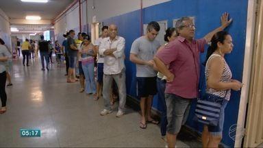 Mais de dois milhões e trezentos mil mato-grossenses voltaram às urnas - Mais de dois milhões e trezentos mil mato-grossenses voltaram às urnas