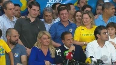 João Doria é eleito governador do estado de São Paulo - Com 10 milhões de votos, Márcio França (PSB) adota tom conciliador após reconhecer derrota.