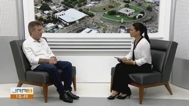 Candidato eleito, Antonio Denarium (PSL) é entrevistado no Jornal de Roraima - 1ª Edição - Denarium foi eleito no 2º turno das Eleições 2018 com 53,34% dos votos totais.