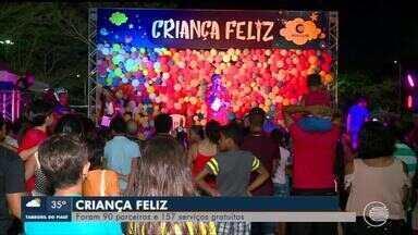 Criança Feliz leva milhares para o Parque da Cidadania - Criança Feliz leva milhares para o Parque da Cidadania