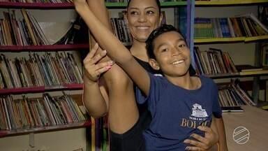 Menino de Campo Grande é selecionado para o Bolshoi, em Santa Catarina - Ele dança ballet em escola pública da capital de Mato Grosso do Sul.