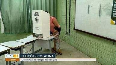 Votação é tranquila no 2º turno em Colatina, Noroeste do ES - Eleitores puderam votar sem preocupação.