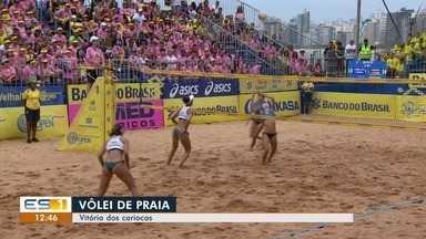 Circuito Brasileiro de Vôlei de Praia acontece na Praia da Costa, em Vila Velha - Muitos capixabas foram prestigiar e torcer.
