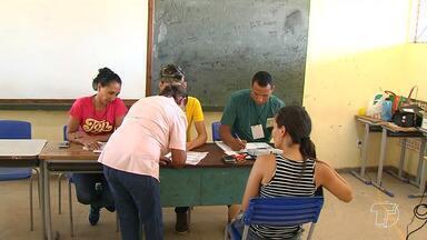 Eleição é considerada tranquila e sem filas nos locais de votação em Santarém - Pela manhã quase não se via filas nos locais de votação.
